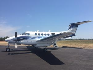 King Air CFZNQ Side View - Gallery