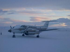 King Air in Snow - Gallery