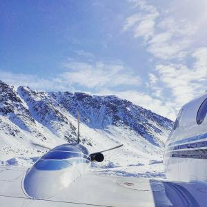 King Air Wing View - Gallery