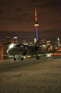 SmoothAir Air Nunavut Falcon 10 Jet at Toronto Island Airport - Gallery